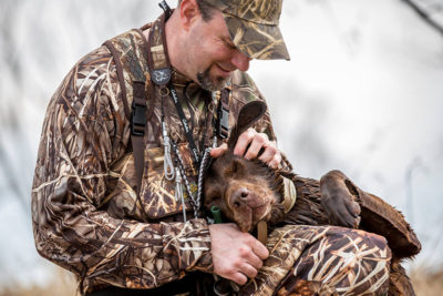Jeff & Pickett | SportingDog Adventures