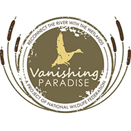 "<a href=""http://sportingdogadventures.com/our-sponsors/"">Vanishing Paradise was launched in 2009 by Ducks Unlimited and National Wildlife Federation to advocate for restoration of the Mississippi River Delta by nationalizing the issue and educating members of Congress.</a>"