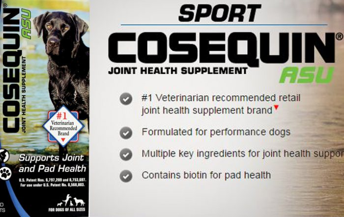 Cosequin Sport ASU   SportingDog Adventures